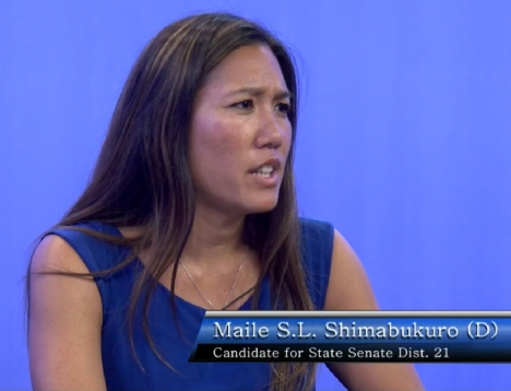 Senator Shimabukuro participated in the 2014 Waianae Coast Candidate Forum 96792: Ep - 2 Senator, District 21, on 12 July 2014.