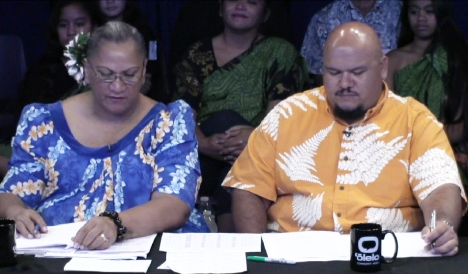 Lokana Keliikoa-Pua and Cory Cordeiro served as moderators.
